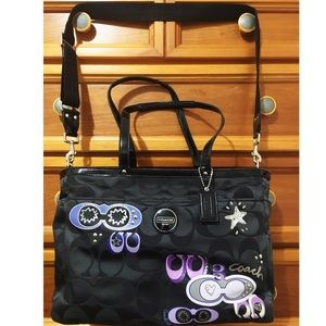 Authentic Coach Poppy Diaper Bag